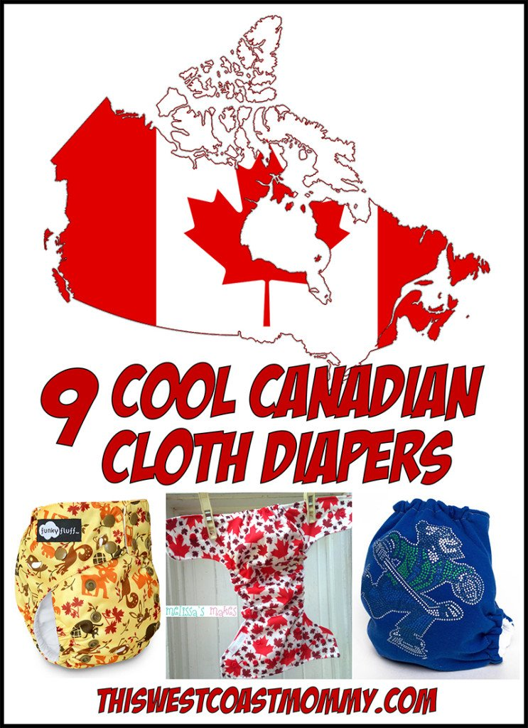 9 Cool Canadian Cloth Diapers
