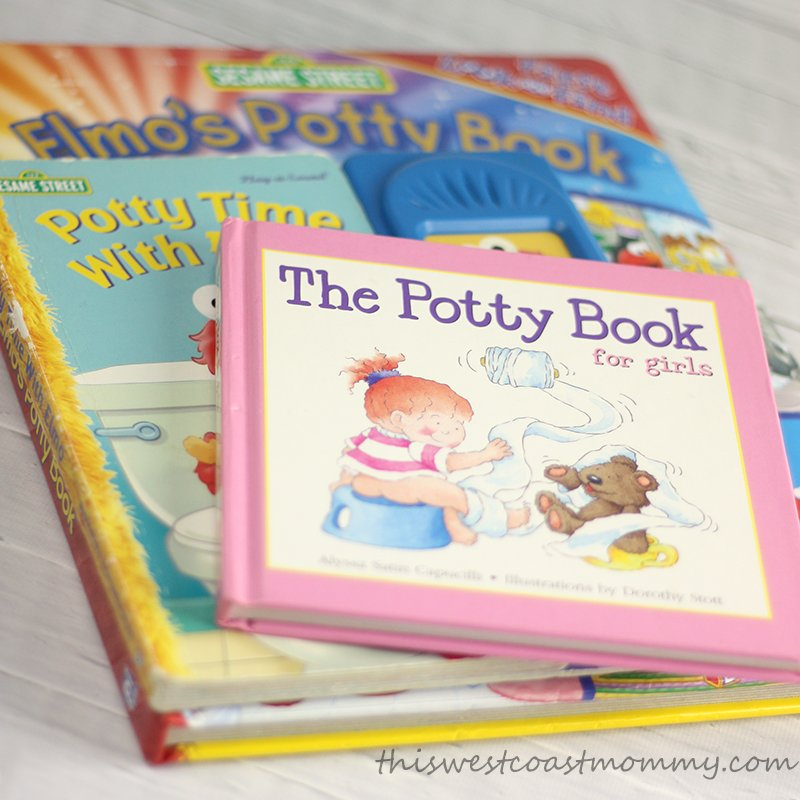 Keep special books near the potty for your toddler to look at.