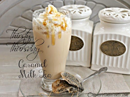 Caramel Milk Tea from One More Time Events