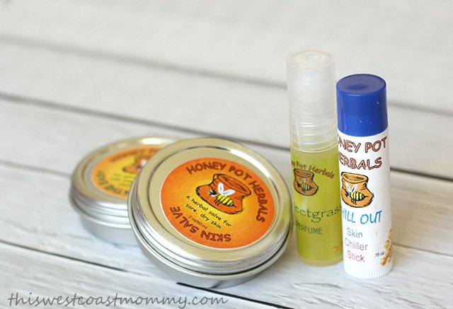 Honey Pot Herbals makes herbal products from homegrown herbs for the whole family.