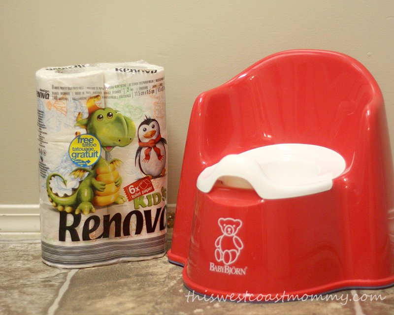 Renova kids' toilet paper works great for potty training!