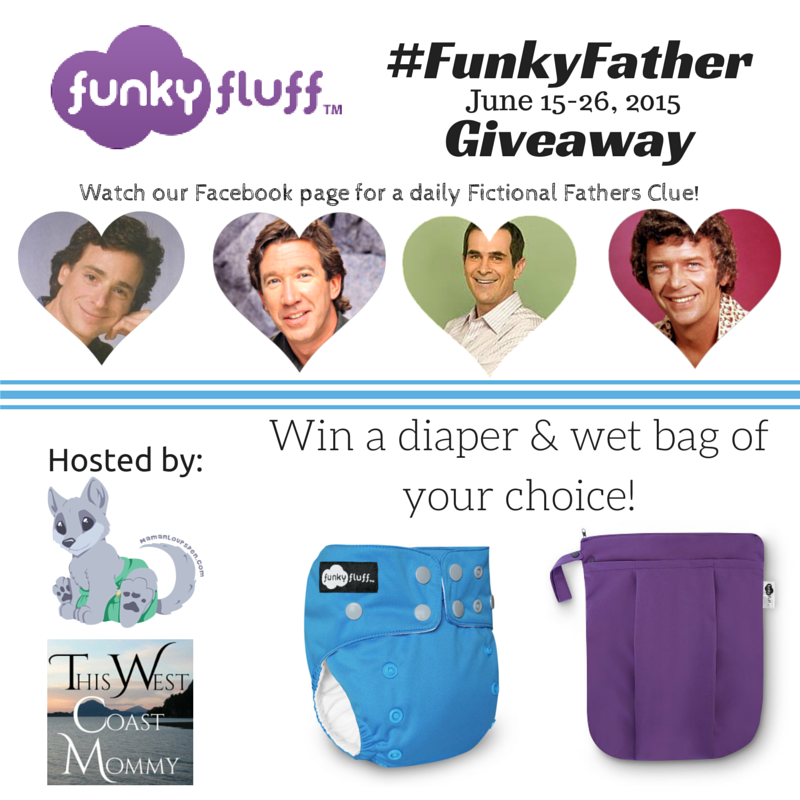 Win a Funky Fluff diaper and wet bag! (CAN/US, 6/26)