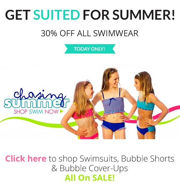 Shop the Limeapple Swimsuit Sale - June 12th only!