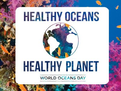 """This year's World Oceans Day theme is, """"Healthy Oceans, Healthy Planet."""""""