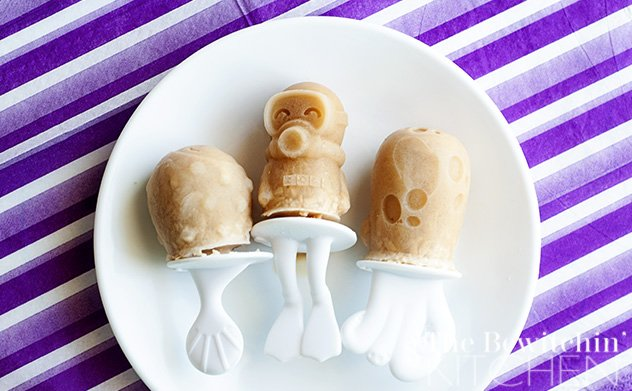 Coconut Coffee Popsicles - The Bewitchin' Kitchen