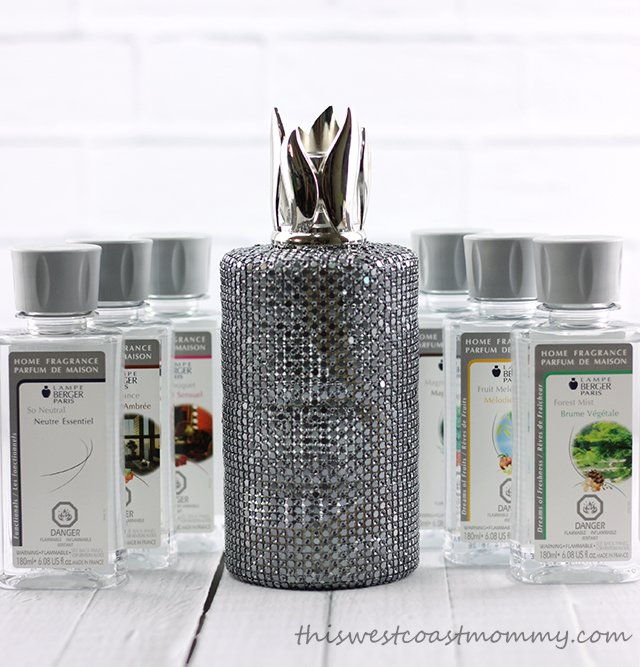 Lampe Berger lamps and fragrances help clean and freshen the air in my home.