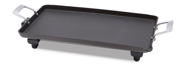 Circulon hard anodized jumbo electric griddle