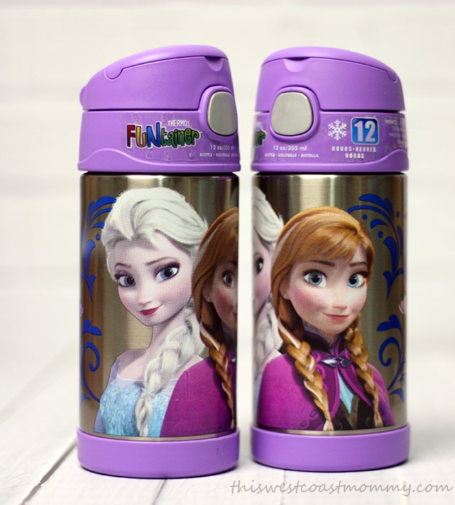 Frozen reusable bottles