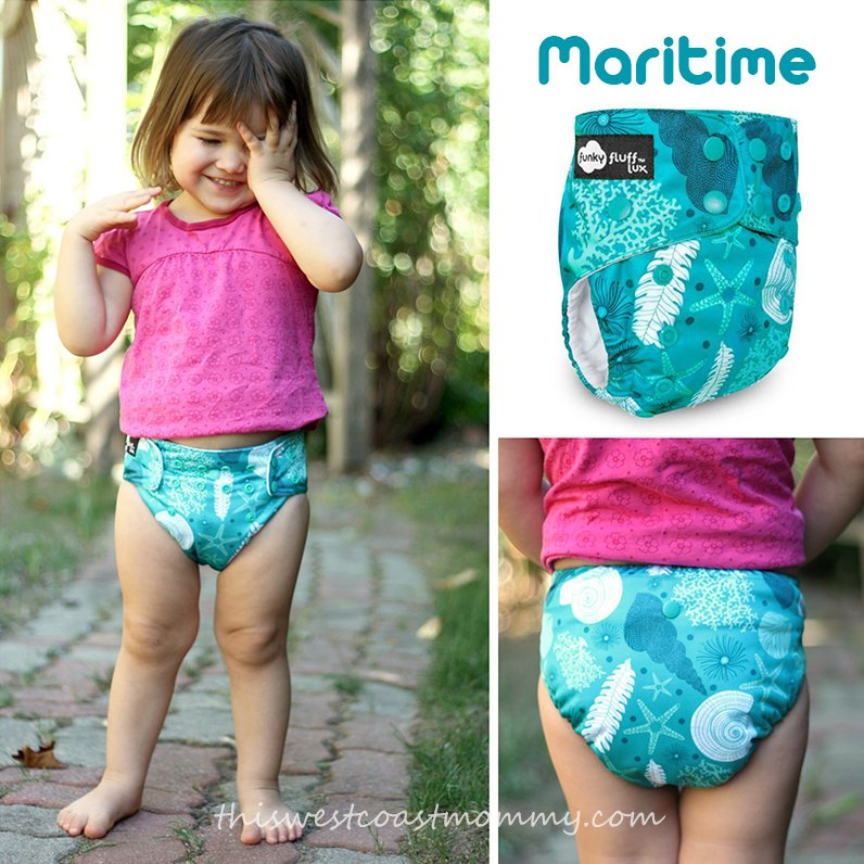 Funky Fluff's newest print: Maritime