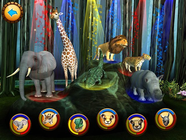 Rock out with the Safari Tales animal band!