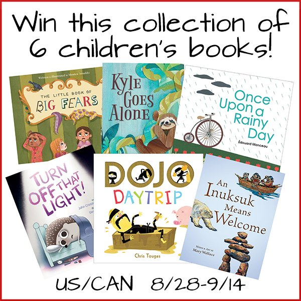 Win this collection of 6 children's books from Owlkids Books (US/CAN, 9/14)