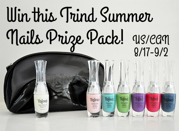 Win this Trind Summer Nails Prize Pack! (US/CAN, 9/2)
