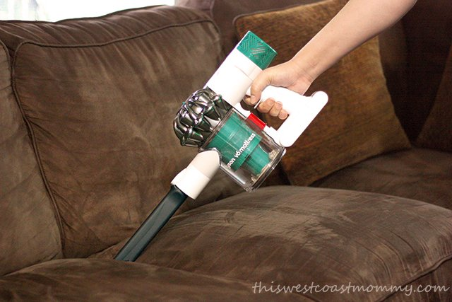 Comes with motorized tool and crevice tool to deep clean the couch too.
