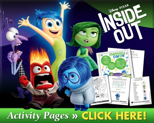 Inside Out Activity Pages