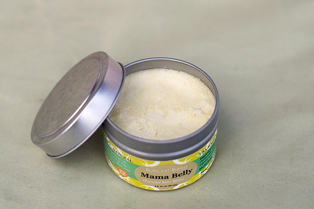 BALM! Baby's Mama Belly smells and feels so luxurious, and the moisture lasts all day.