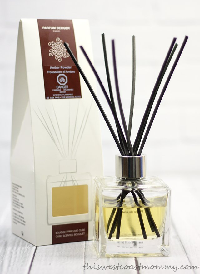 Parfum Berger's new scented cube bouquet makes a great hostess gift!
