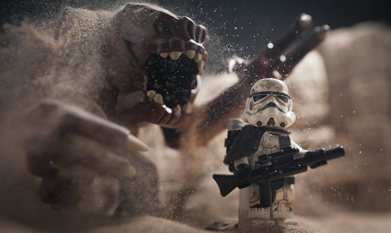 "Small Scenes from a Big Galaxy: ""Rancor's Sandpit"""