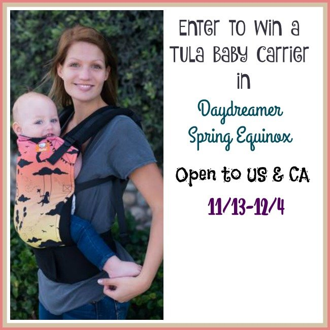 Win a Tula Baby Carrier in Daydreamer Spring Equinox (US/CAN, 12/4)