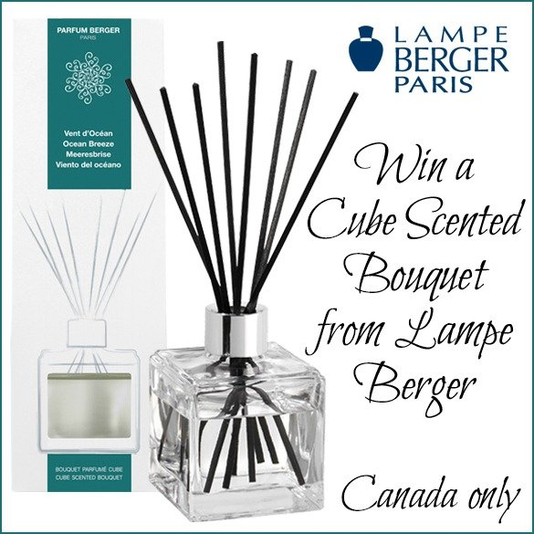 Win a Parfum Berger Cube Scented Bouquet (CAN, 12/14)