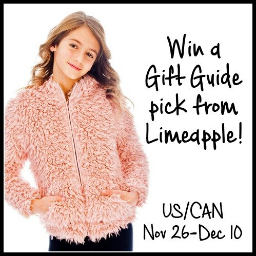 Win a gift guide pick from Limeapple (US/CAN, 12/10)