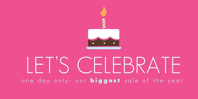 Limeapple's biggest sale of the year