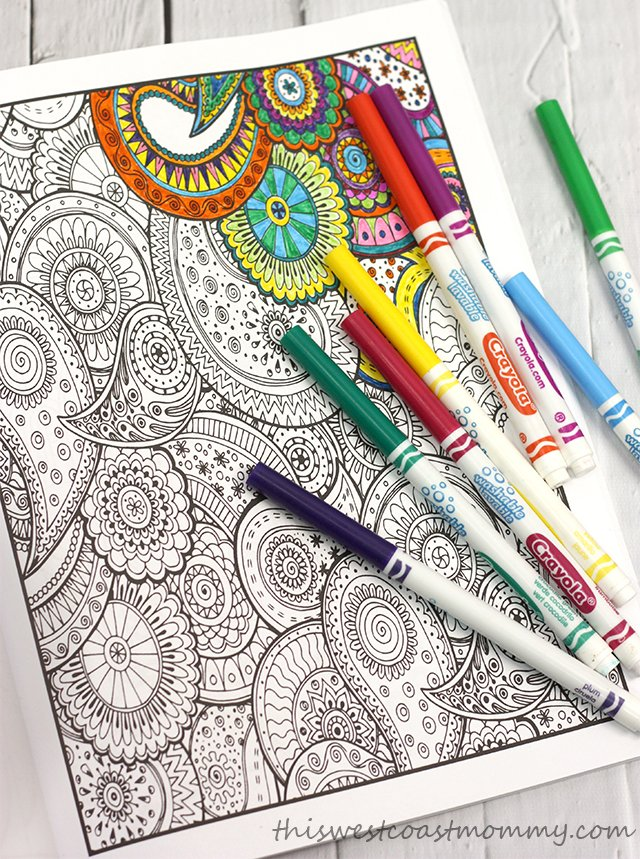 Colouring is a relaxing and deeply satisfying activity for all ages!