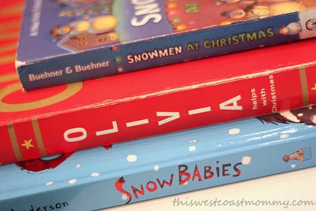 Christmas books for kids at the RBC Avion Holiday Boutique