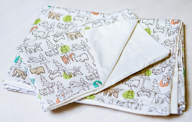 Forest Animals Organic Baby Bedding Collection