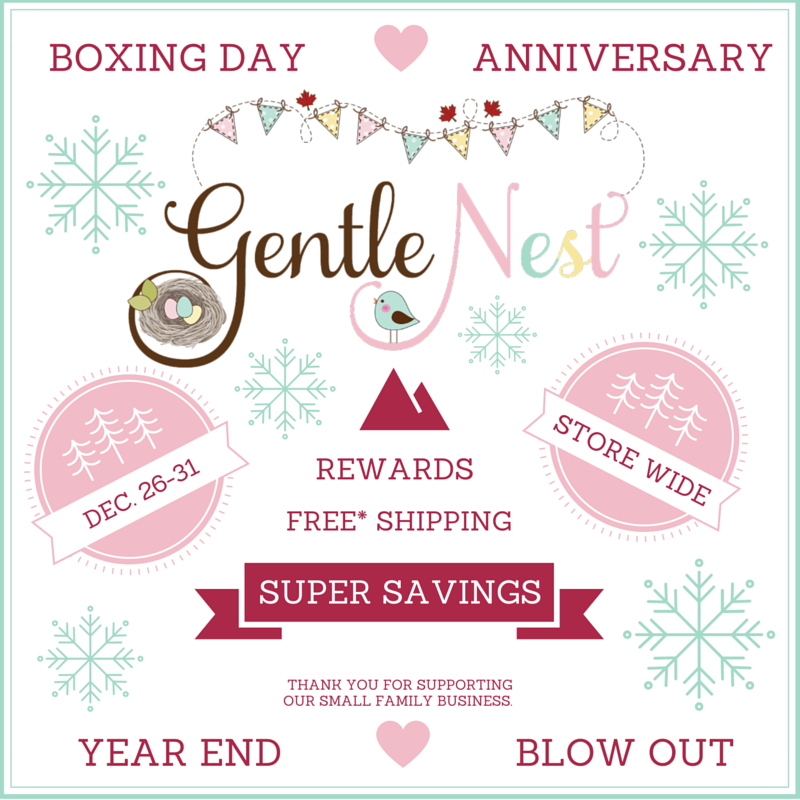 Gentle Nest Boxing Day Sale