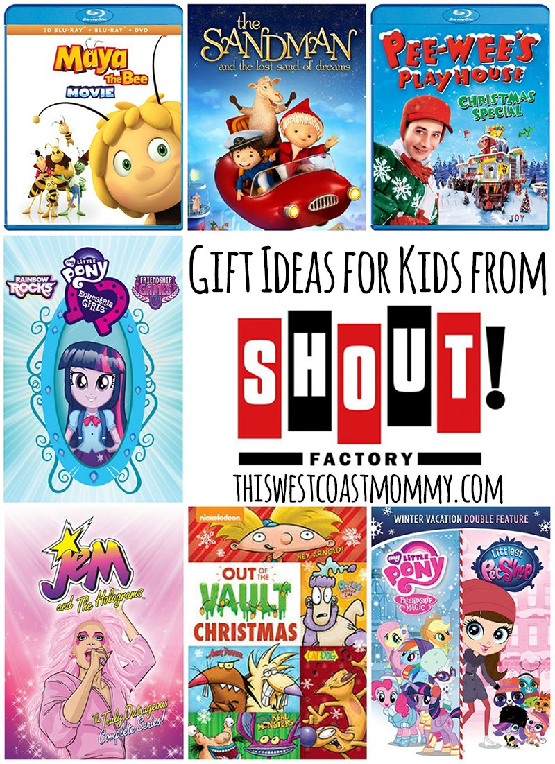 Movie Gift Ideas for Kids from Shout! Factory