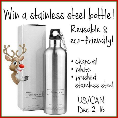 Win a stainless steel bottle - Dec 16