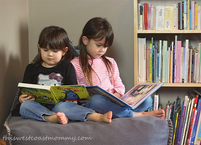 Tips for raising an enthusiastic reader: make books easily accessible