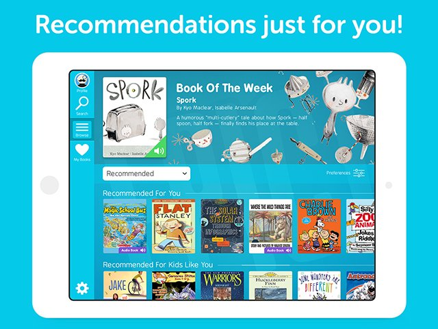 Epic! is a monthly subscription service providing instant and unlimited access to a library of over 10,000 fiction and non-fiction titles, available online or offline on any device!