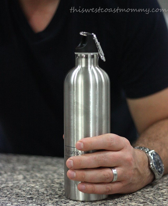 Ditch the plastic and make the switch to a stainless steel insulated bottle.