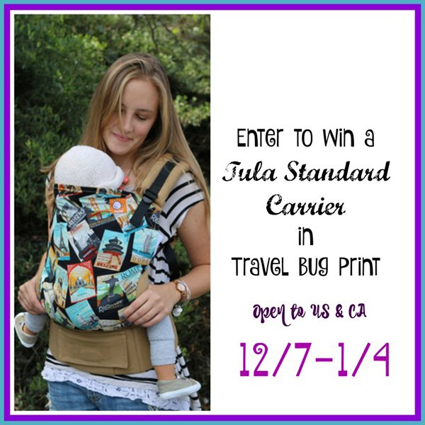 Win a Tula Carrier in Travel Bug! (US/CAN, 1/4)