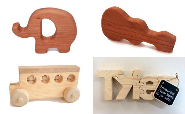 Re-Wood Teethers and Toys