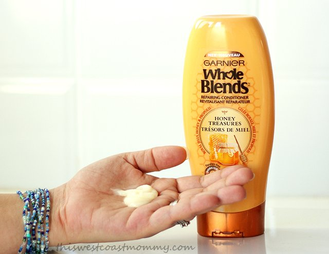 Whole Blends Honey Treasures thick and creamy conditioner