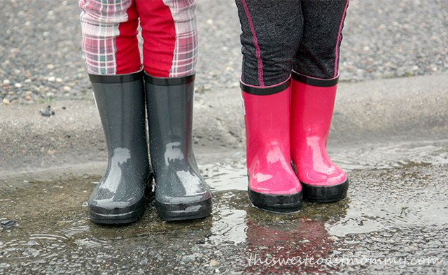 Rain Bootz are made from high quality, all-natural rubber, free from PVC, phthalates, lead, and formaldehyde.