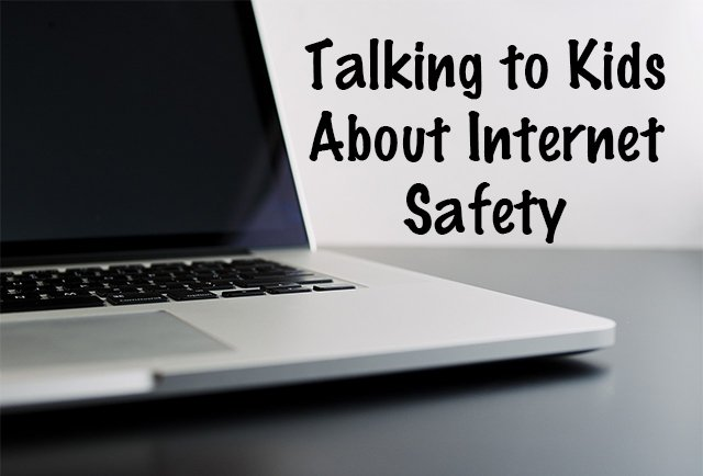 Talk to your kids about internet safety before they go online.