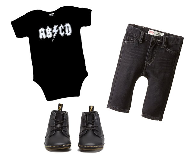 rock star baby outfit