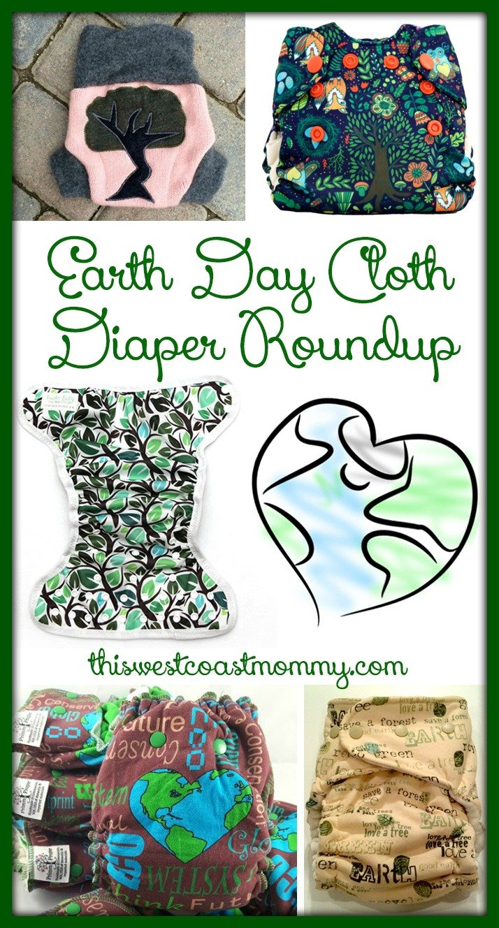 Earth Day Cloth Diaper Roundup