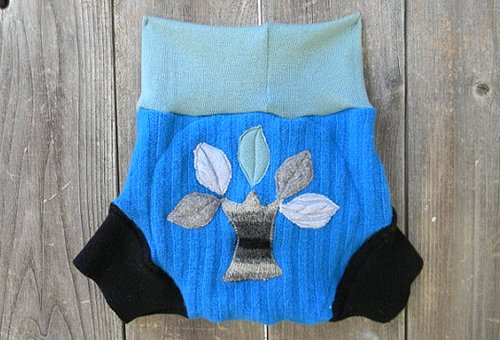 My Eco Baby - upcycled wool soaker