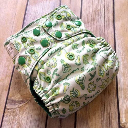 RaeBums OS Pocket Diaper with AWJ Lining