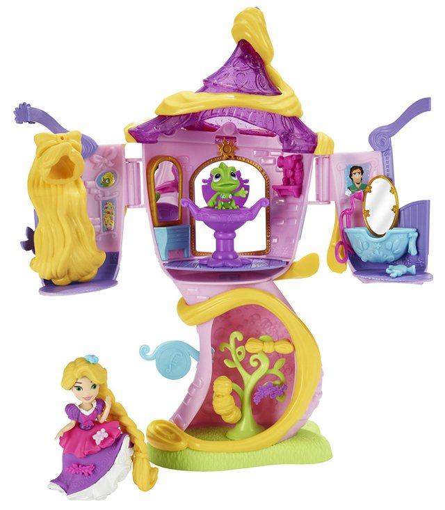 Small Doll Rapunzel's Tower