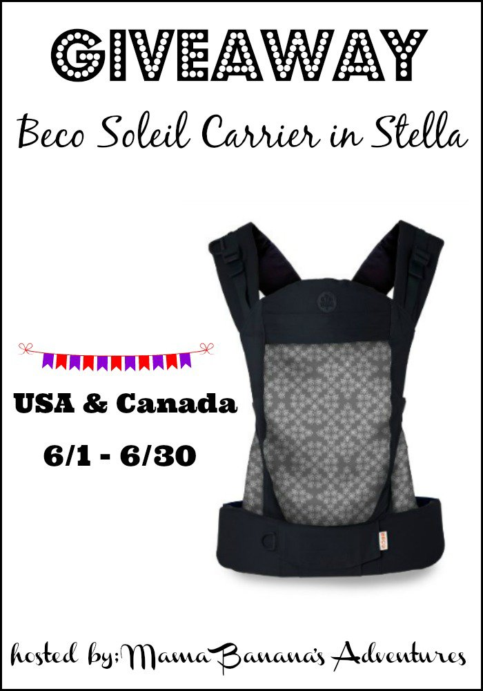 Win a Beco Soleil Carrier (US/CAN, 6/30)