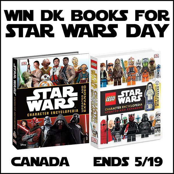 DK Star Wars giveaway (CAN, 5/19)