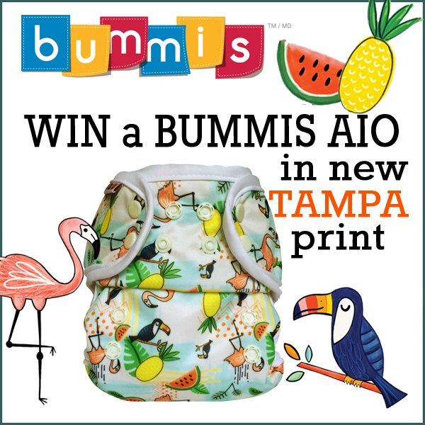 Win a new TAMPA Bummis AIO! (US/CAN, 7/4)