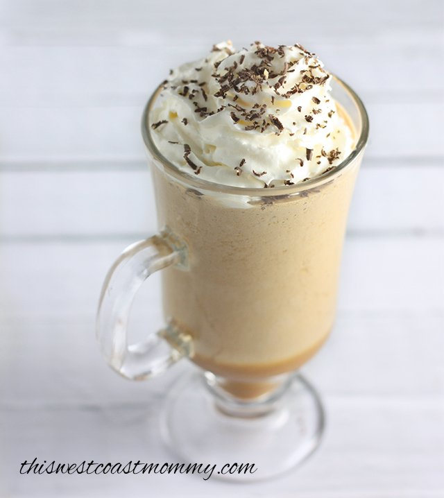 This Coffee Coconut Frappe is low in sugar and paleo-friendly (leave off the whipped cream for a dairy-free treat). The perfect frosty pick-me-up for summer!