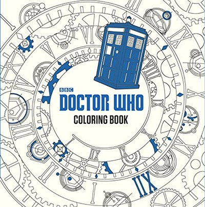 Dr. Who Colouring Book