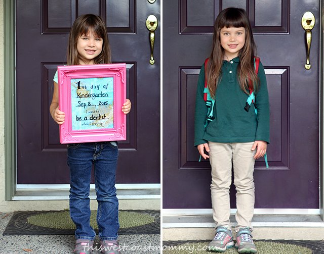 Tee's first day & last day of school